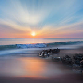 Debra and Dave Vanderlaan - Sunrise Surf Dreamscape
