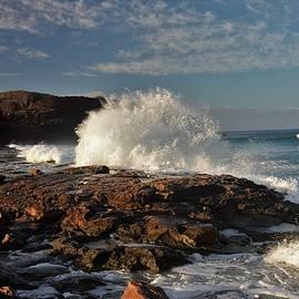 Heidi Fickinger - Sunrise Surf Kepuhi Bay