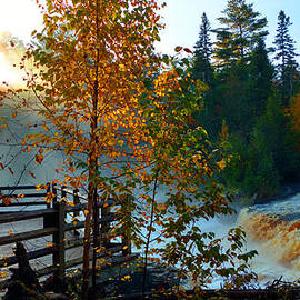 Michael Rucker - Sunrise Tahquamenon Waterfall