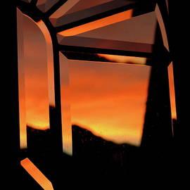 Bonnie See - Sunrise Window Abstract