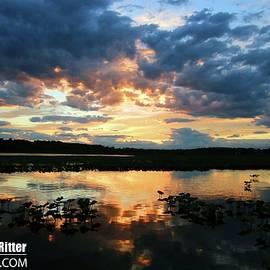 Sunset 7038 by Captain Debbie Ritter