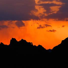 Nicholas Blackwell - Sunset Across the Badlands
