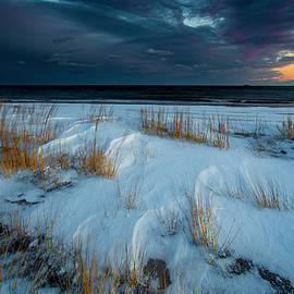Mike Deutsch - Sunset After Snow Storm
