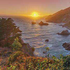 Sunset Along Highway 1 Big Sur California by Scott McGuire