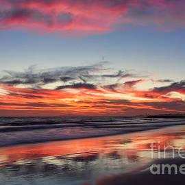 Sunset At 32nd Street by Eddie Yerkish