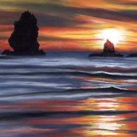 Tammy Crawford - Sunset at Canon Beach