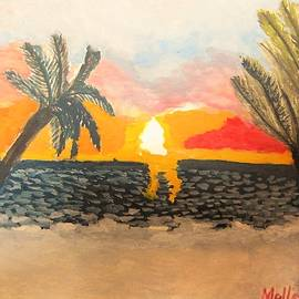 Carmela Maglasang - Sunset at Coco Beach Philippines