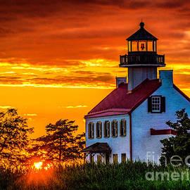 Nick Zelinsky - Sunset at East Point Light