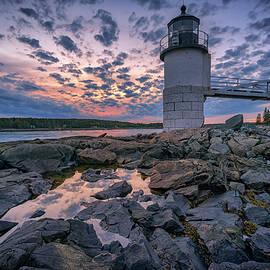 Sunset At Marshall Point by Rick Berk