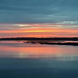 Carol Bradley - Sunset at Shelter Cove