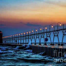 Nick Zelinsky - Sunset at South Haven Light