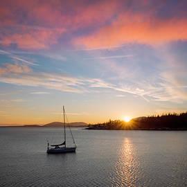 Ryan McGinnis - Sunset at Teddy Bear Cove