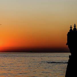 NadyaEugene Photography - Sunset at the Belem Tower