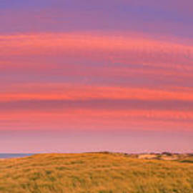 Sunset at the Old Harbor US Life Saving Station at Race Point, P by Henk Meijer Photography