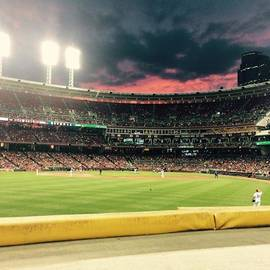 Erin Mintchell - Sunset At A Reds Game