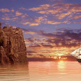 Alex Lim - Sunset At The Sea