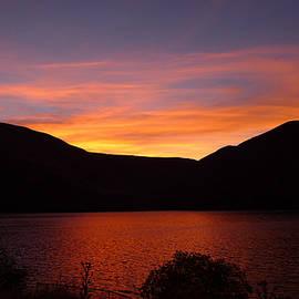 Joel Deutsch - Sunset at Woodhead Campground