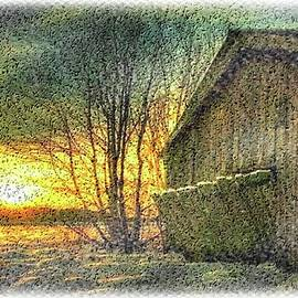 Mario Carini - Sunset Barn View