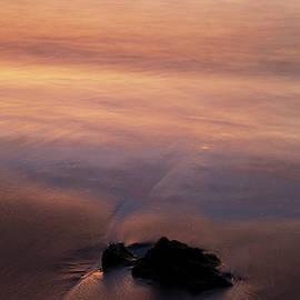 Sunset Beach Rock by Charmian Vistaunet