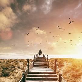 Carlos Caetano - Sunset Boardwalk