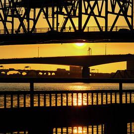 Sunset Bridge 2 by Arthur Dodd