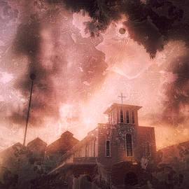 Sunset Church by HweeYen Ong
