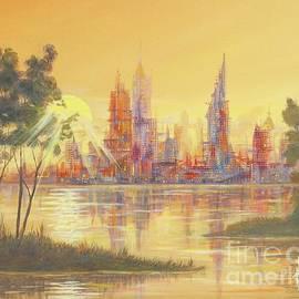 Paul Henderson - Sunset City II