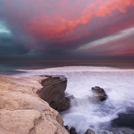William Dunigan - Sunset Cliffs Park Sunrise Cloud