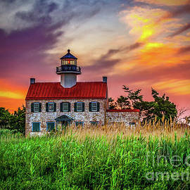 Nick Zelinsky - Sunset Colors at East Point