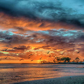 Sunset Dana Point CA_7R2_DSC3300_17-01-17 by Greg Kluempers