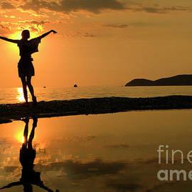 Sunset Dance by Daliana Pacuraru