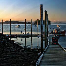 Catherine Melvin - Sunset Dock