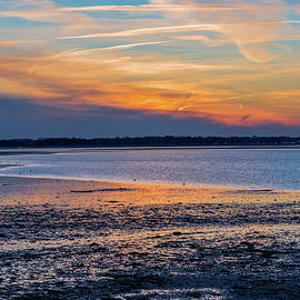 Brian MacLean - Sunset from Houghs Neck in Quincy Massachusetts