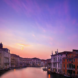 Sunset from the Accademia Bridge - Andrew Soundarajan