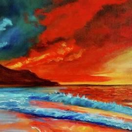Sunset Hawaii by Jenny Lee