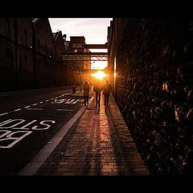 Giuseppe Milo - Sunset in Bellevue - Dublin, Ireland - Color street photography