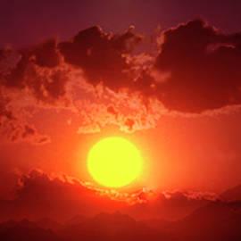 Sunset In Egypt 9 by Johanna Hurmerinta