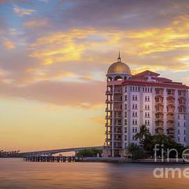 Sunset In Sarasota, Florida by Liesl Walsh