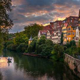 Sunset in Tubingen by Dmytro Korol
