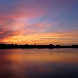 Carol Lloyd - Sunset Lake Panorama
