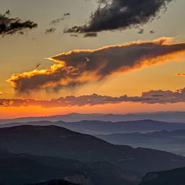 Sunset Layers by David R Robinson