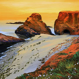 Sunset North Of Fort Bragg Ca by Frank Wilson