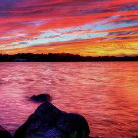 Sunset Of Fire by David Dufresne