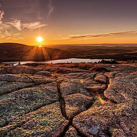 Joe Paul - Sunset on Cadillac Mountain