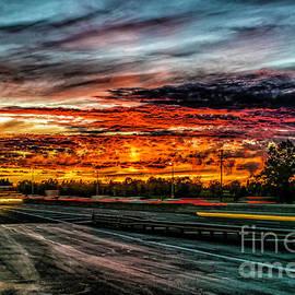 Nick Zelinsky - Sunset on I-66