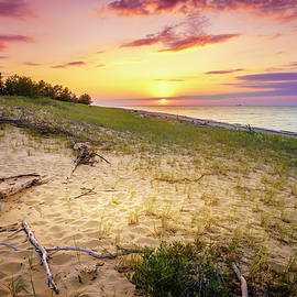 Alexey Stiop - Sunset on Lake Superior