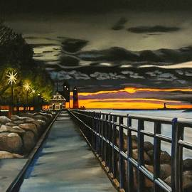 Janet Guss - Sunset On The Channel