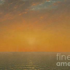 Sunset on the Sea, 1872 - John Frederick Kensett