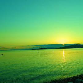 Jeff Swan - Sunset on the Sunshine coast