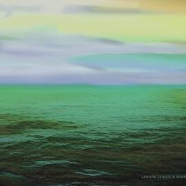 Lenore Senior and Sharon Burger - Sunset on the Water 2